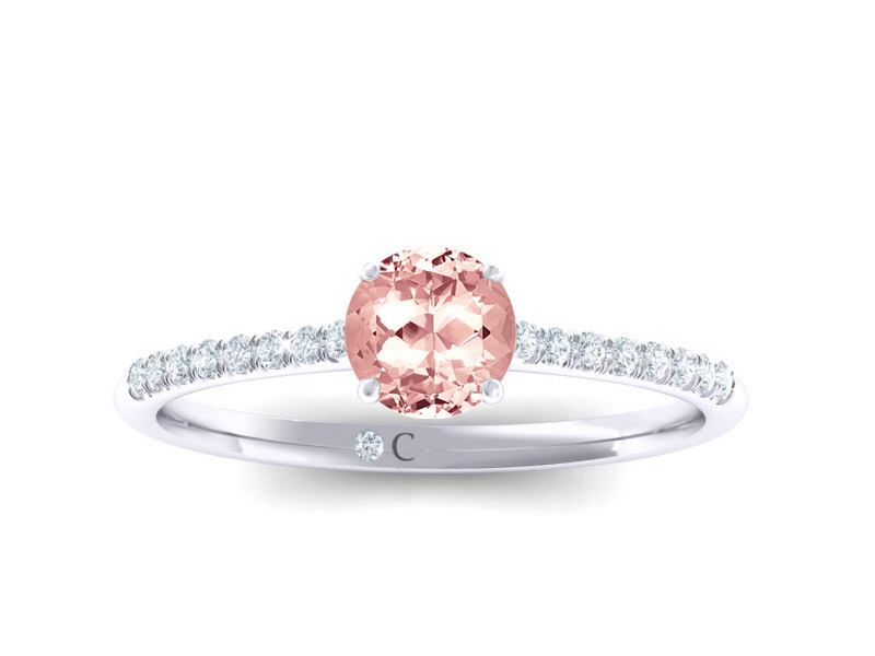 Solitaire Morganite