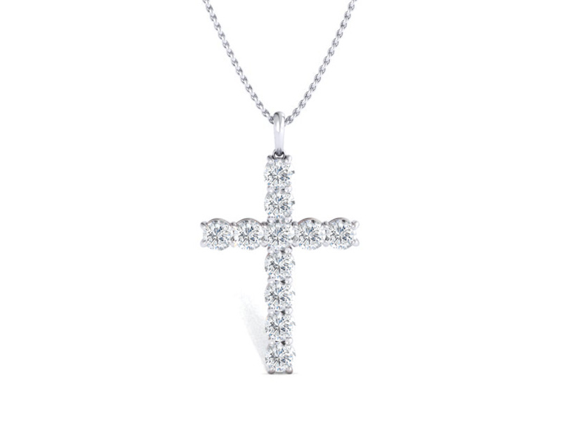 No. 16 Cross Pendant