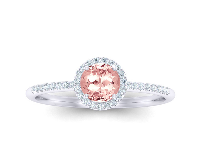 Halo Morganite